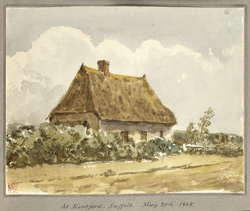 At Kentford, Suffolk, 1848